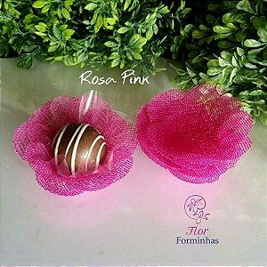 50 Formas para doces Camelia - Pink - F011