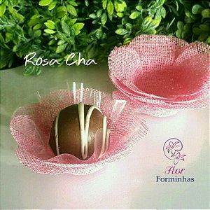 50 Formas para doces Camelia - Rosa Cha - F011