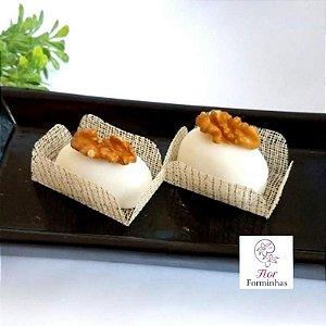 50 Formas para doces para camafeu - Creme Fio Dourado - F017