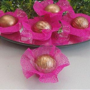 50 Forminhas Cestaflor Rosa Pink F000