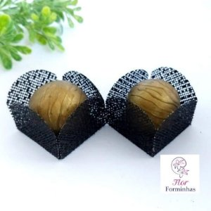 50 Formas para doces - Caixeta Preto F002