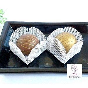 50 Formas para doces - Caixeta Branco F002