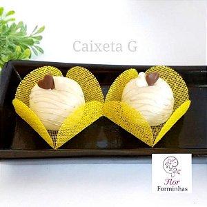 50 Forminha Caixeta G Amarelo - F003