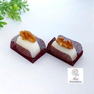50 Formas para doces para camafeu - Marsala - F017