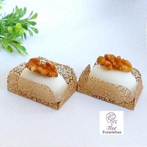 50 Formas para doces para camafeu - Dourado - F017