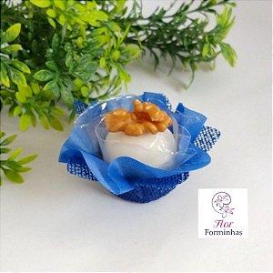 50 Forminhas para Doces Amarilis Azul Escuro - F009
