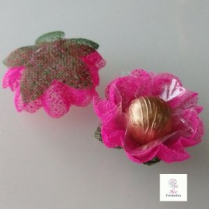 25 Forminhas para doces Gerbera -Pink - F065