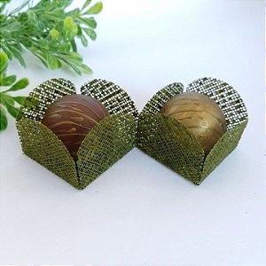 50 Formas para doces - Caixeta Verde Pistache -F002