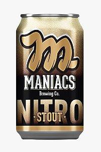 Cerveja Beer Maniacs NITRO Stout Lata 350 ml