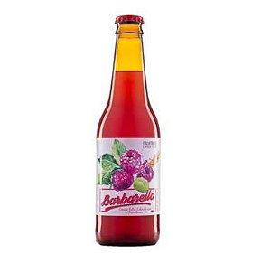 Cerveja Barbarella Fruitbier Framboesa - 355 ml- Caixa 12 unidades