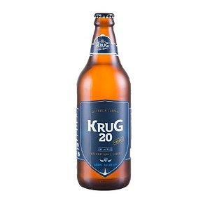 Cerveja Krug 20 - 600 ml - Caixa 12 unidades