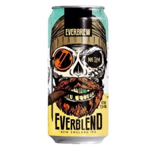 Cerveja Everbrew Everblend - 473 ml - Caixa 6 unidades