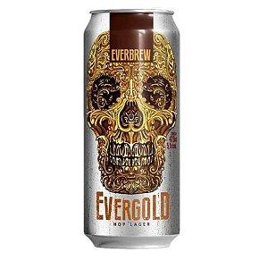 Cerveja Everbrew Evergold - 473 ml - Caixa 6 unidades