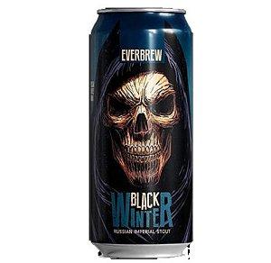 Cerveja Everbrew Black Winter - 473 ml - Caixa 6 unidades