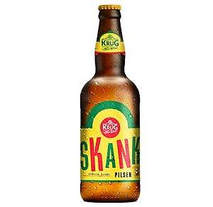 Cerveja Krug Bier Skank Pilsen - 500 ml - Caixa 12 unidades