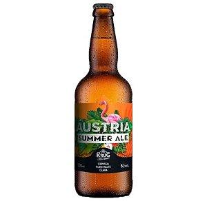 Cerveja Krug Bier Summer Ale - 500 ml - Caixa 12 unidades
