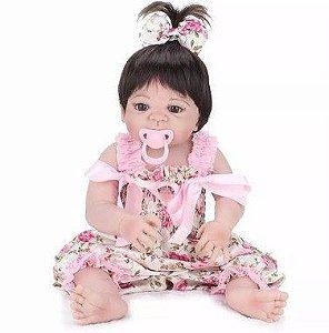 Bebe Reborn de Silicone Maria Júlia