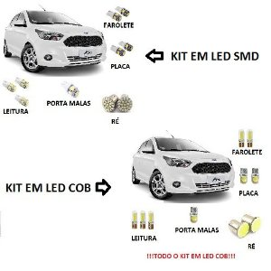 Kit Led Novo Ford Ka 2015 2016 2017