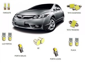Kit Led Honda New Civic 2007 à 2013