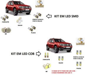 Kit Led Duster até 2015