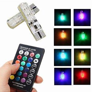 Par Pingo 6 Leds RGB 16 CORES com controle