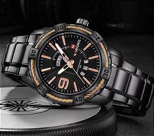 Relógio Naviforce NF9117 Preto