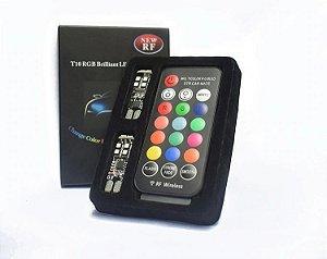 Par Pingo 10 Leds CANBUS RGB 16 CORES com controle