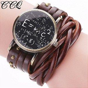 Relógio CCQ Vintage Matemática