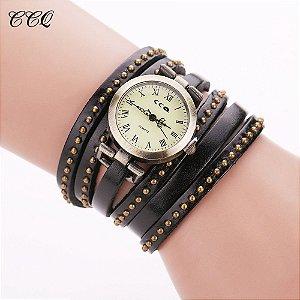 Relógio CCQ Vintage Rock