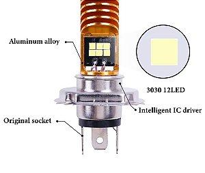 H4 12 LEDS CREE