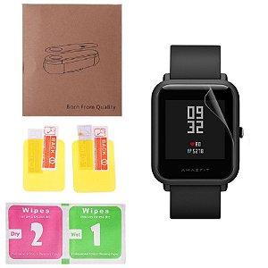 Kit 2 Películas Relógio Smartwatch Amazfit Bip