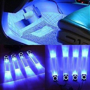 Kit Luz de Led Para Iluminação Interior Carro