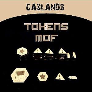 TOKENS EM MDF GASLANDS