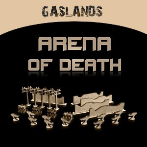 KIT CENÁRIO ARENA OF DEATH GASLANDS