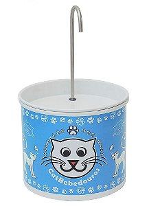 Bebedouro Fonte para Gatos Catbebedouros - Azul Claro