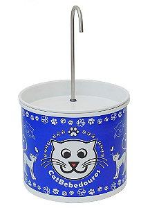 Bebedouro Fonte para Gatos Catbebedouros - Azul Escuro