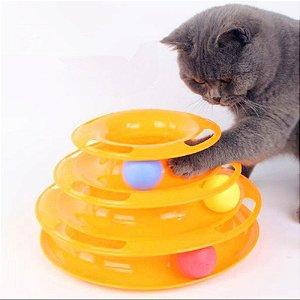 Torre de Bolinhas para Gatos