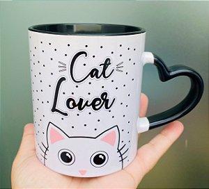 Caneca Cat Lover