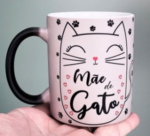Caneca Mágica - Mae de gato Patinhas