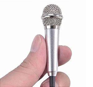 Mini Microfone para Celular
