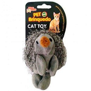 Brinquedo Porquinho do Mato com Catnip