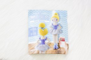 Kit amigurumi Bailarina Azul