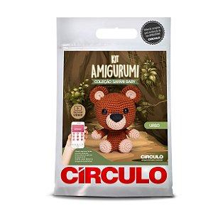 Kit Amigurumi - Safári Baby - Urso