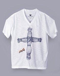 Camiseta Gola V Curadora