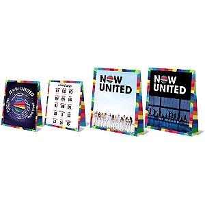 Decoração de Mesa Now United com 08 unidades