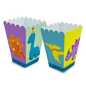 Caixa Pipoca Baby Dino com 06 unidades