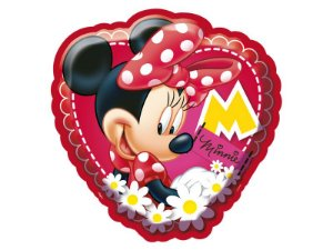 Decoracao Bolo Pequeno Red Minnie Clássica
