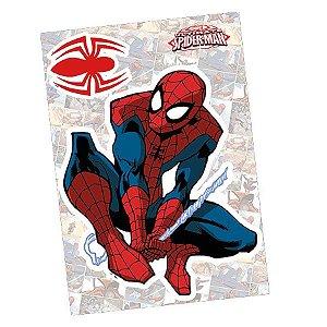 Personagem Decorativo Spider Quadrinhos Com 02 Unidades