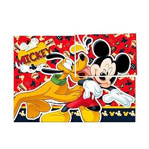 Painel 4 Lâminas 126X88Cm Mickey Clássico 01 unidade