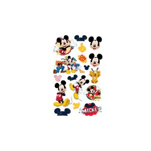 Mini Personagens Decorativo Mickey Clássico Com 17 Unidades